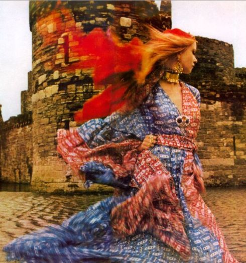 Thea Porter British Vogue 1969
