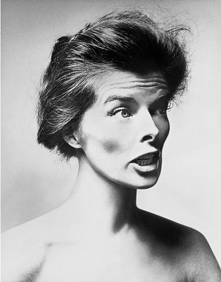 Katharine Hepburn, ph. Richard Avedon