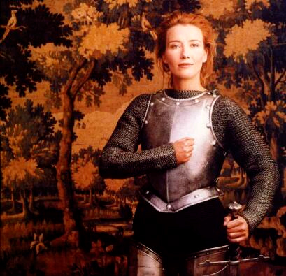 Emma Thompson as Joan of Arc - by Annie Leibovitz