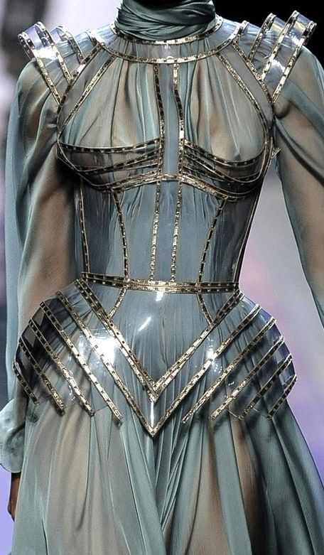 Jean- Paul Gaulthier Joan of Arc dress 1