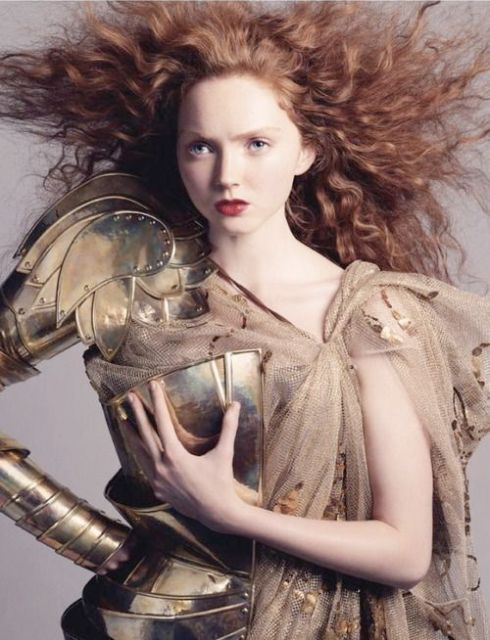 Lily Cole for Christian Dior