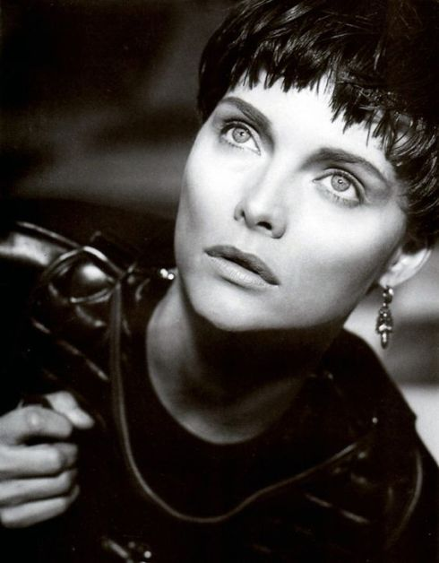 Michelle as Joan of Arc. Herb Ritts