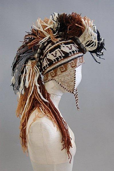 Dior Mohawk hat