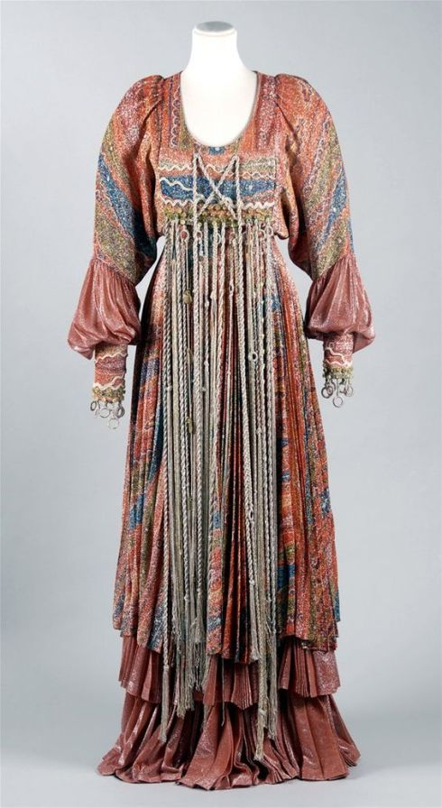 Waterfall dress, 1973
