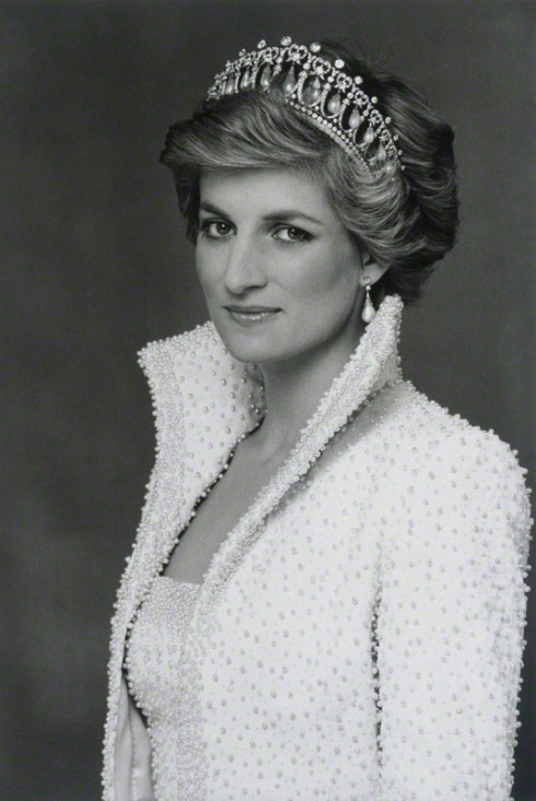 Diana, Princess of Wales by Terence Daniel Donovan, 1990