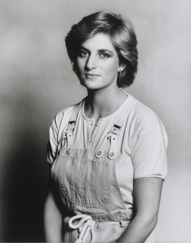 Diana, Princess of Wales by Terence Daniel Donovan, 1987