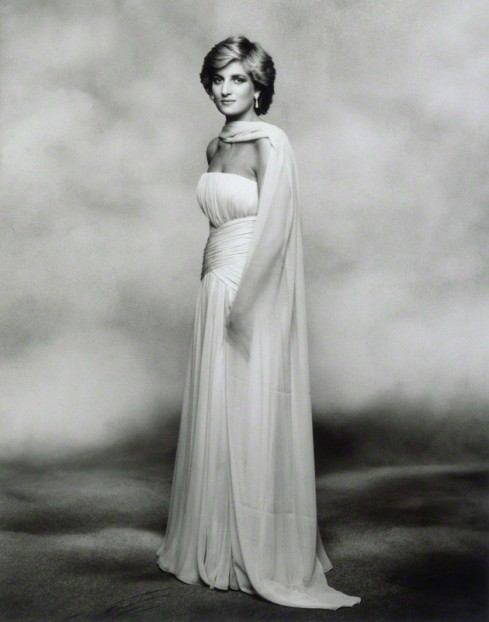 Diana, Princess of Wales by Terence Daniel Donovan