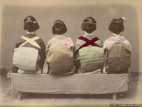Kimono's at the back