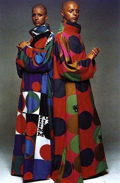 1970- UNISEX CAFTANS by Rudy Gernreich