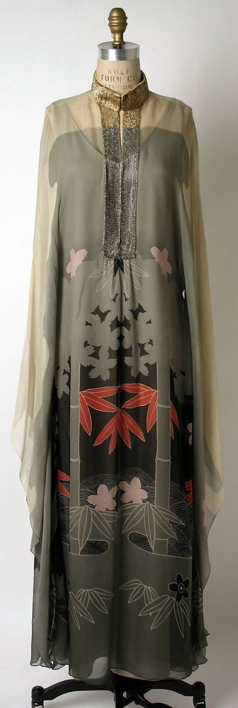 Evening dress Hanae Mori 1975