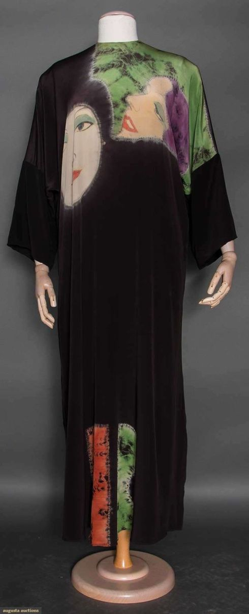 Halston Painted Caftan, 1972,