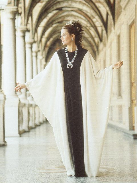 Princess Grace Kelly of Monaco wearing a creation by Grès and photographed by Richard Avedon for Italian Vogue.