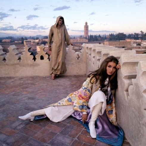 Retro Marrakech, 70's fashion shoot