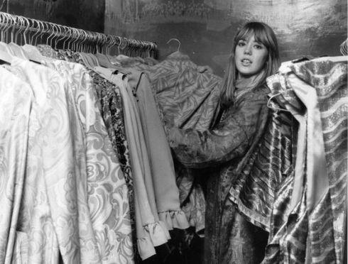 7th December 1967 Jenny Boyd, sister in-law of Beatle George Harrison