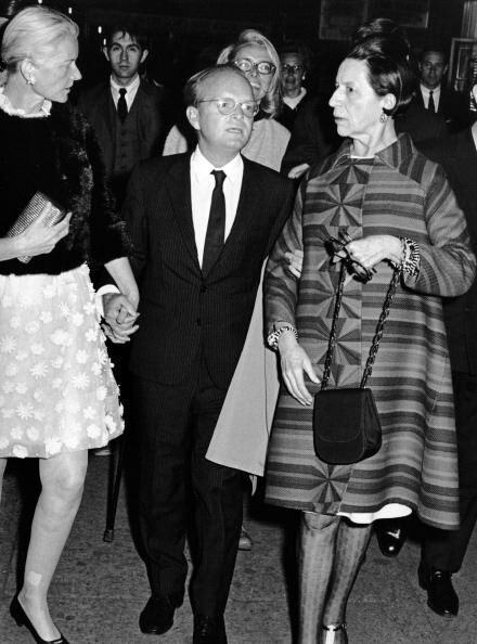 Capote, Diana Vreeland & C.Z. Guest (1968).