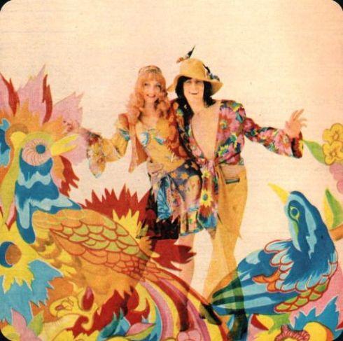 Marijke Koger & Simon Posthuma Jackie magazine1970