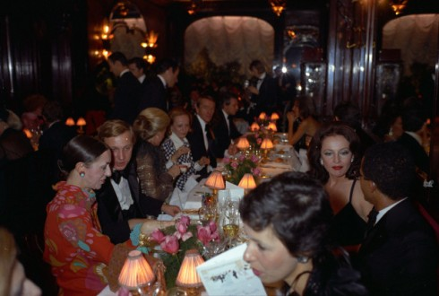 guests pre-party at Maxim's held by Baron Alexis 