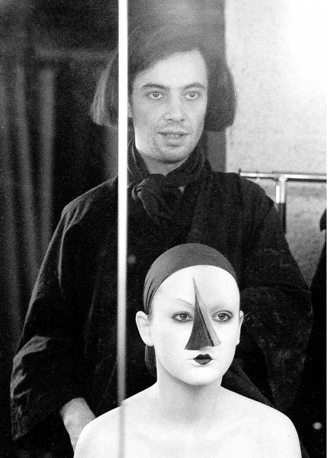 Serge Lutens & model