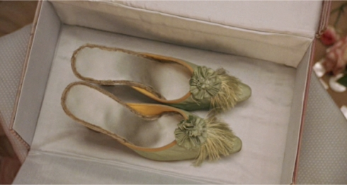 Manolo Blaníck shoes for movie Marie Antoinette